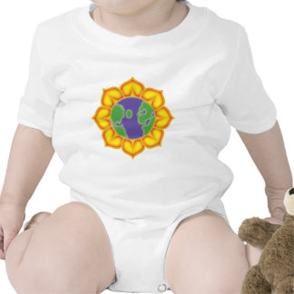 Earth Flower Baby Bodysuit