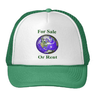 Earth For Sale Or Rent Hat