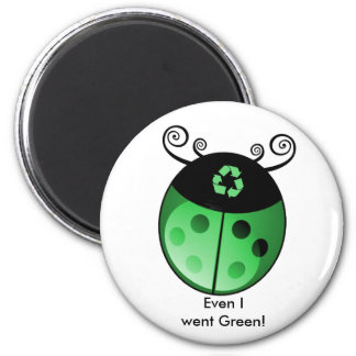 Earth Friendly 6 Cm Round Magnet