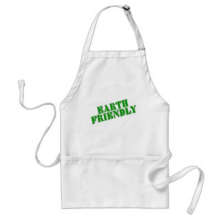 EARTH FRIENDLY Earth Day Tees and Totes Standard Apron