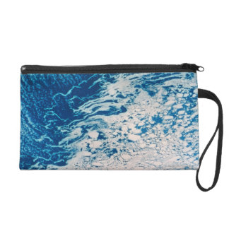 Earth from a Satellite 2 Wristlet