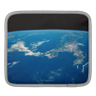 Earth from a Satellite 4 iPad Sleeve