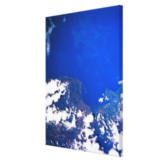 Earth from a Space Shuttle Canvas Prints