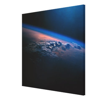 Earth from Outer Space 2 Canvas Print