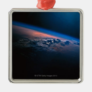 Earth from Outer Space 2 Christmas Ornament