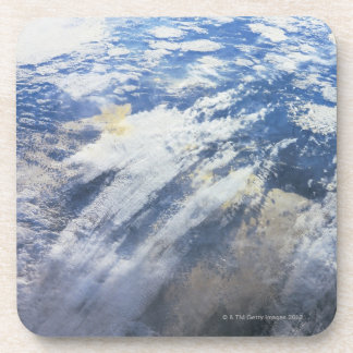 Earth from Outer Space 4 Drink Coaster