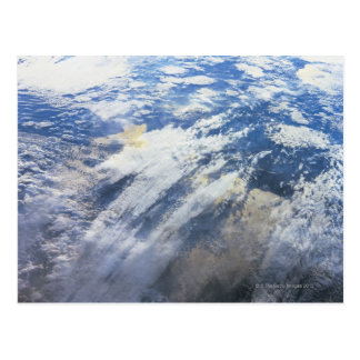 Earth from Outer Space 4 Postcard