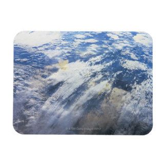Earth from Outer Space 4 Rectangular Magnet