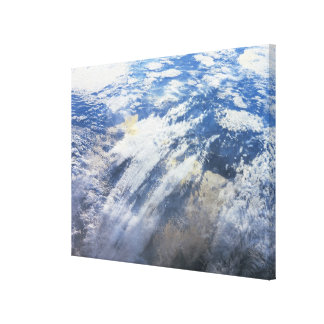 Earth from Outer Space 4 Stretched Canvas Prints