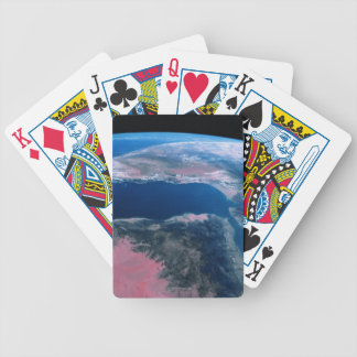 Earth from Outer Space 5 Bicycle Playing Cards