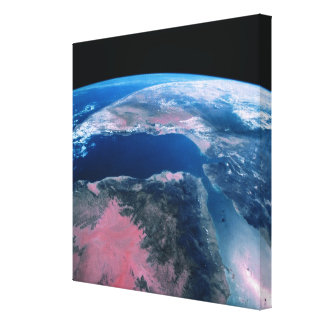 Earth from Outer Space 5 Gallery Wrap Canvas