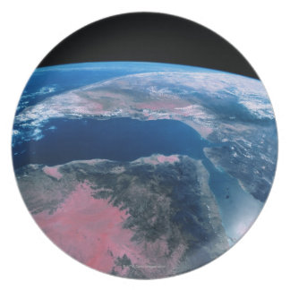 Earth from Outer Space 5 Plate