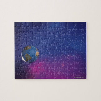 Earth from outer space jigsaw puzzle