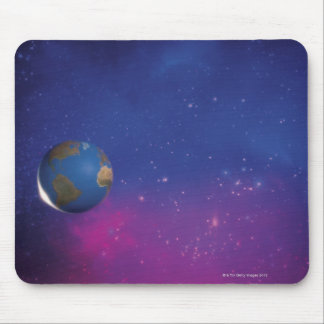 Earth from outer space mouse mat
