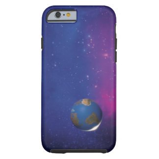 Earth from outer space tough iPhone 6 case