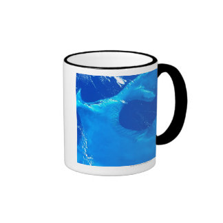 Earth from Satellite 4 Coffee Mugs