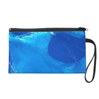 Earth from Satellite 4 Wristlet
