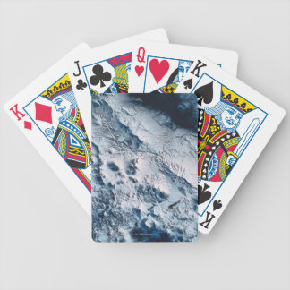 Earth from Satellite 5 Bicycle Playing Cards