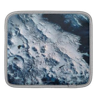Earth from Satellite 5 iPad Sleeve