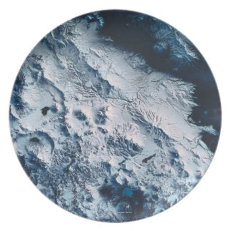 Earth from Satellite 5 Plate