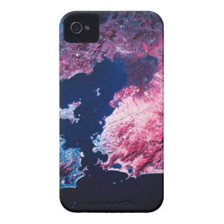 Earth from Satellite iPhone 4 Case-Mate Cases