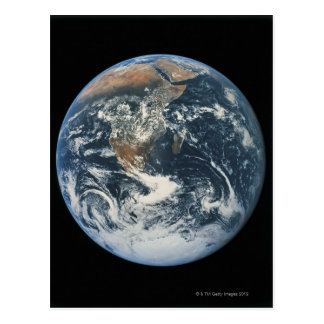 Earth from Space 10 Postcard
