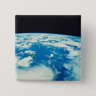 Earth from Space 12 15 Cm Square Badge