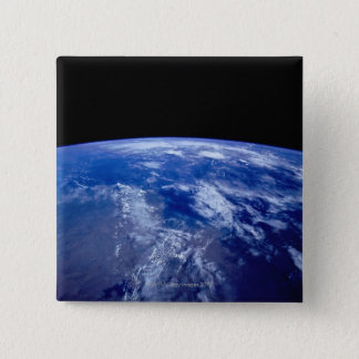 Earth from Space 13 15 Cm Square Badge