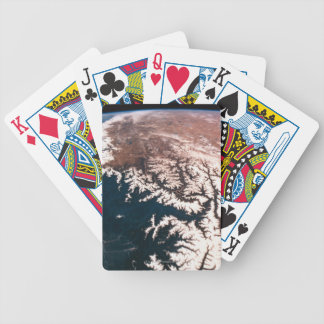 Earth from Space 14 Bicycle Playing Cards