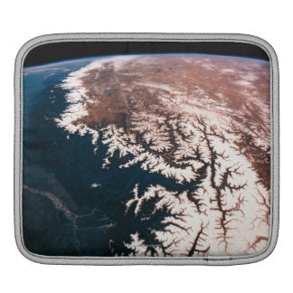 Earth from Space 14 iPad Sleeve
