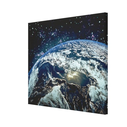 Earth from Space 15 Canvas Prints