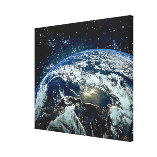 Earth from Space 15 Canvas Print