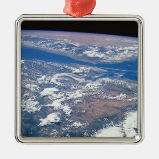 Earth from Space 19 Christmas Ornament