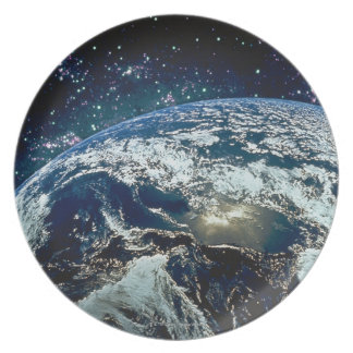 Earth from Space 20 Plate