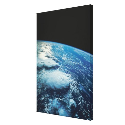 Earth from Space 21 Stretched Canvas Print