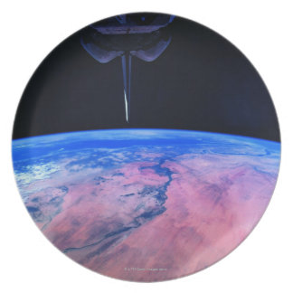 Earth from Space 22 Dinner Plates