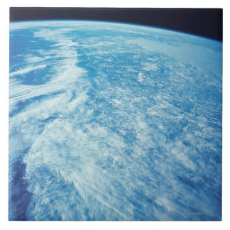 Earth from Space 23 Large Square Tile