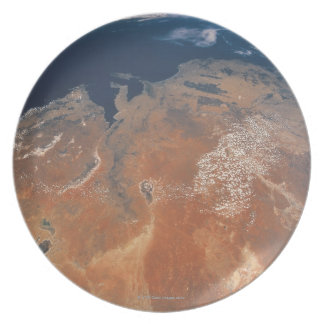 Earth from Space 24 Plate
