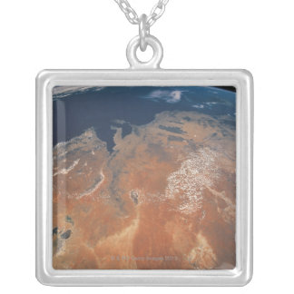 Earth from Space 24 Silver Plated Necklace