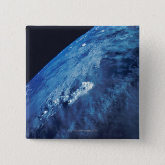 Earth from Space 26 15 Cm Square Badge