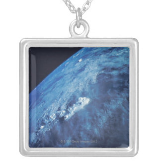 Earth from Space 26 Silver Plated Necklace