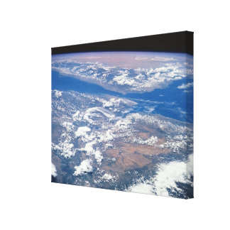 Earth from Space 27 Gallery Wrapped Canvas