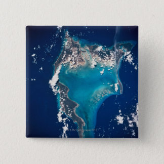 Earth from Space 29 15 Cm Square Badge
