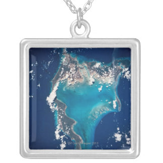Earth from Space 29 Silver Plated Necklace