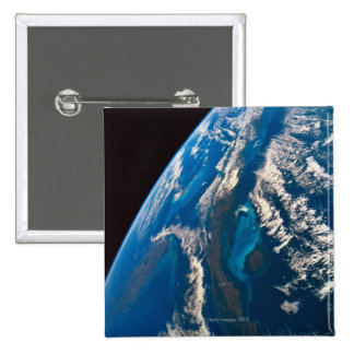 Earth from Space 31 15 Cm Square Badge
