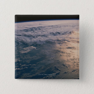Earth from Space 32 15 Cm Square Badge