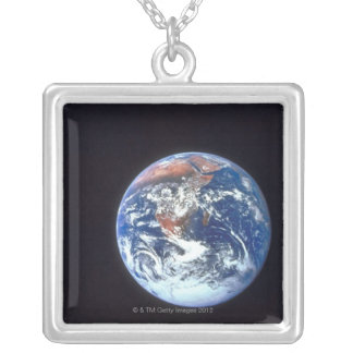 Earth from Space 33 Silver Plated Necklace