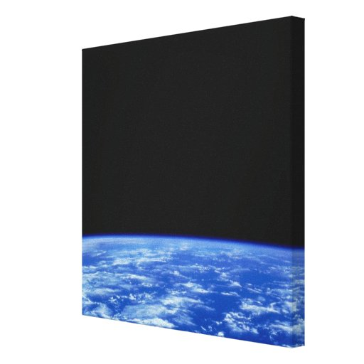 Earth from Space 3 Gallery Wrapped Canvas