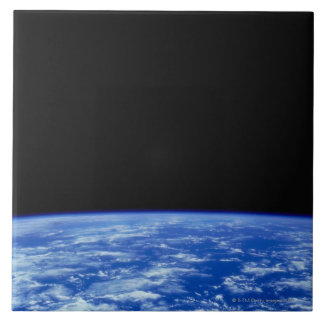 Earth from Space 3 Large Square Tile