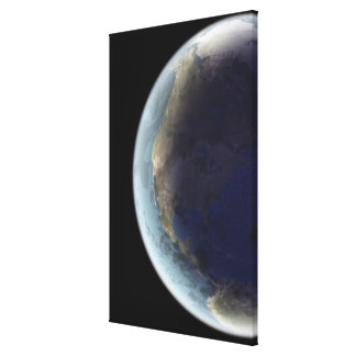 Earth from Space 6 Canvas Print